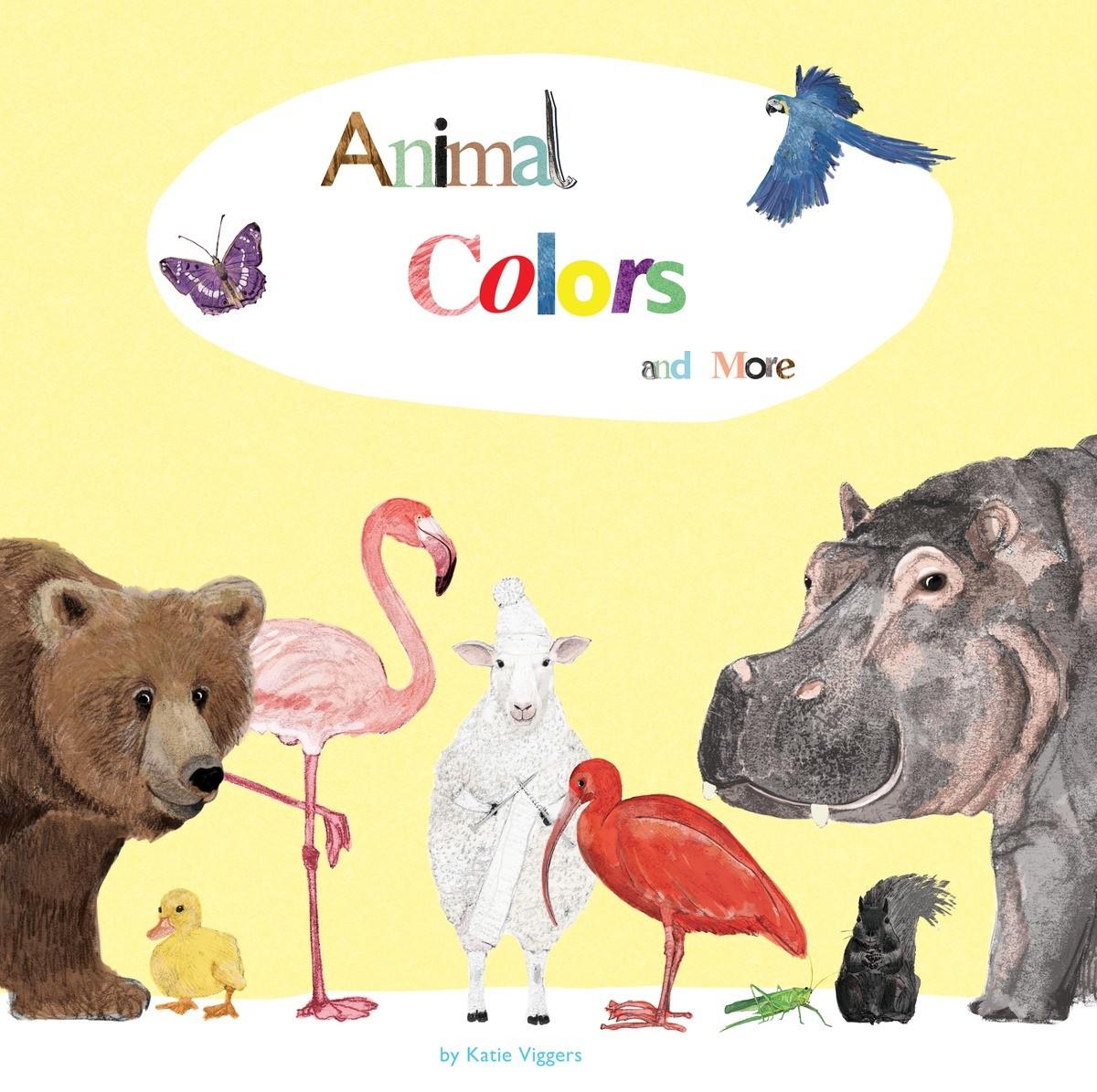 Animal Colors and More | POW! Kids Books