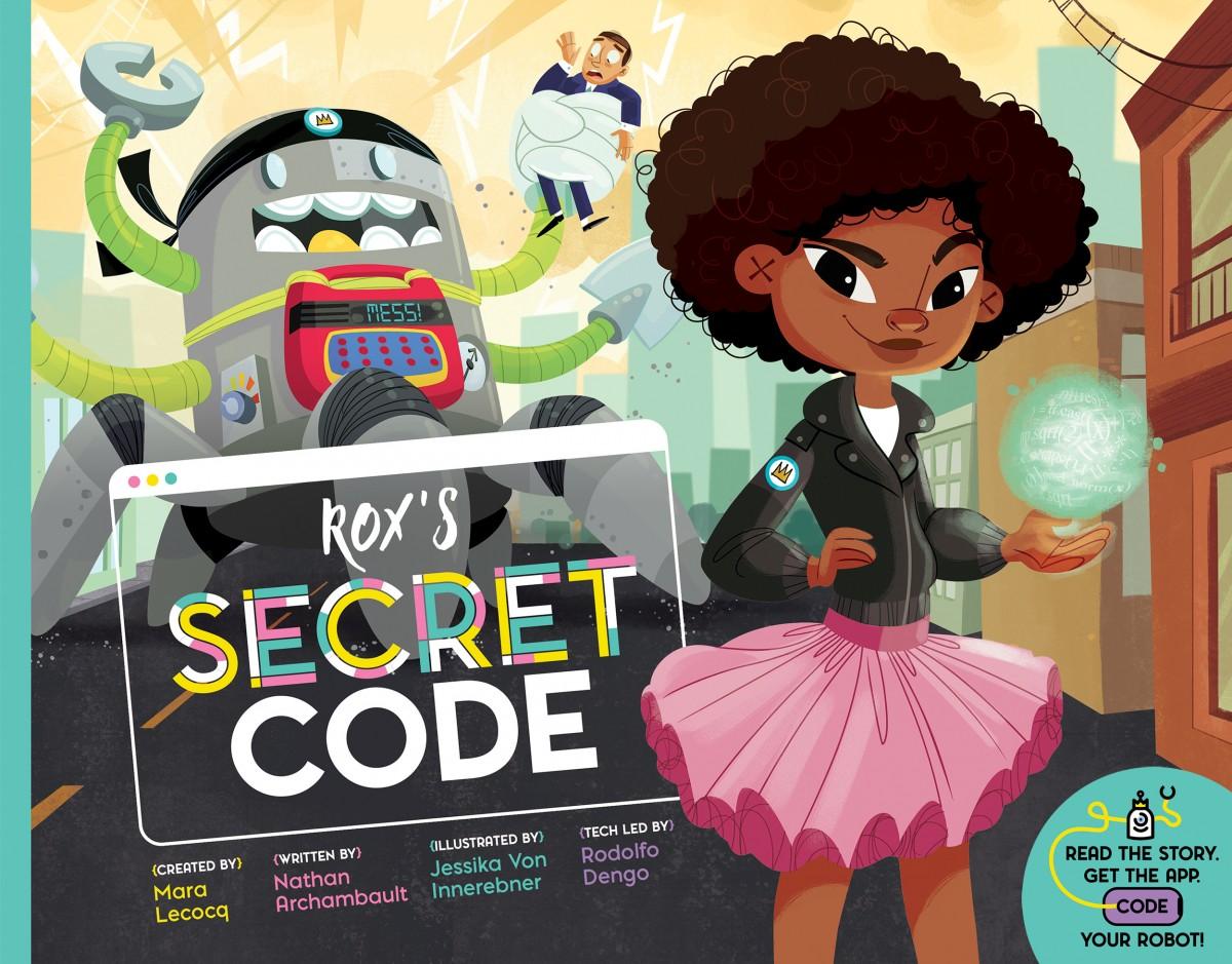 Rox's Secret Code | POW! Kids Books